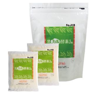 乳カル酵素+Zn(プラスゼットエヌ) Fe&V.B強化